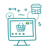 Increased market competition between online and in-store retailers