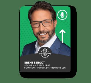 Brent Sergot - Senior Vice President - Southeast Toyota Distributors LLC.
