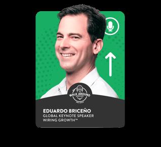 Eduardo Briceno - Global Keynote Speaker - Wiring Growth