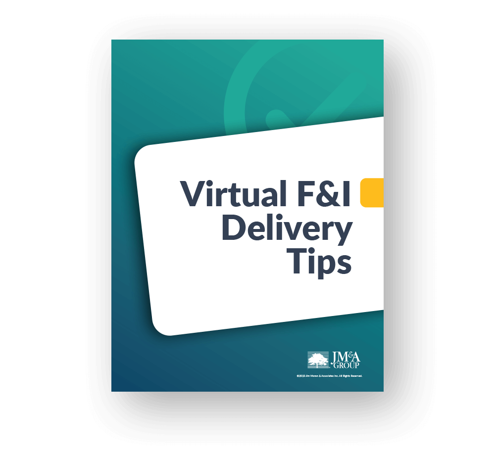 Virtual F&I Delivery Tips