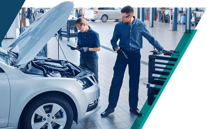 Productive automotive service drive